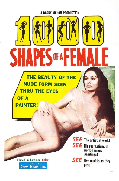 1,000 Shapes of a Female (1963) starring Darlene Bennett on DVD on DVD