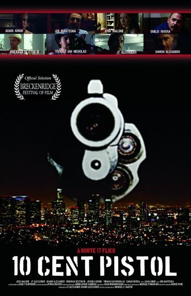 10 Cent Pistol (2014) starring Jena Malone on DVD on DVD