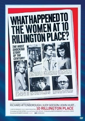 10 Rillington Place (1971) starring Richard Attenborough on DVD on DVD