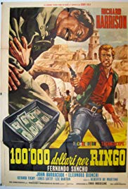 $100,000 for Ringo (1965) with English Subtitles on DVD on DVD