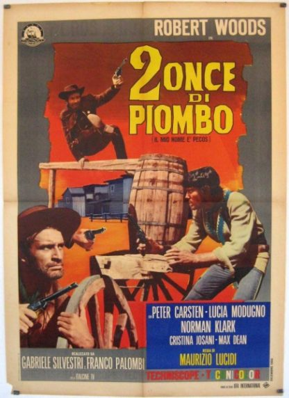 2 once di piombo (1966) with English Subtitles on DVD on DVD