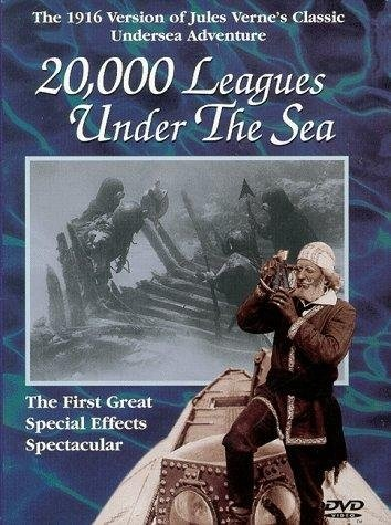 20,000 Leagues Under the Sea (1916) starring Dan Hanlon on DVD on DVD