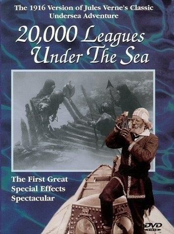 20,000 Leagues Under the Sea (1916) starring Dan Hanlon on DVD on DVD