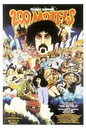 200 Motels (1971) starring Mark Volman on DVD on DVD