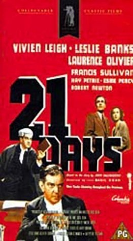 21 Days Together (1940) starring Vivien Leigh on DVD on DVD
