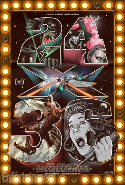 24x36: A Movie About Movie Posters (2016) starring Paul Ainsworth on DVD on DVD