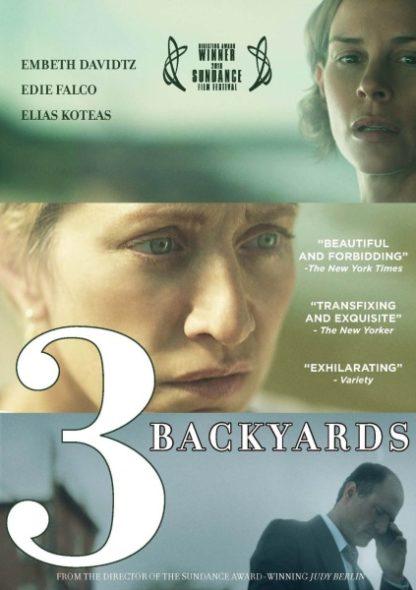 3 Backyards (2010) starring Elias Koteas on DVD on DVD