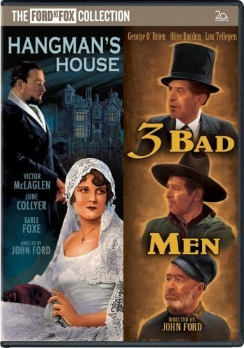 3 Bad Men (1926) starring George O'Brien on DVD on DVD