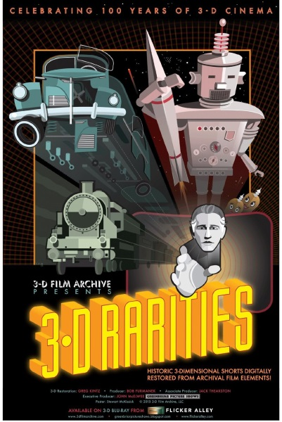 3-D Rarities (2015) starring Macdonald Carey on DVD on DVD