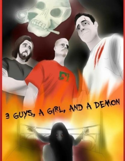3 Guys, A Girl, and A Demon (2014) starring Stefan Alexander on DVD on DVD