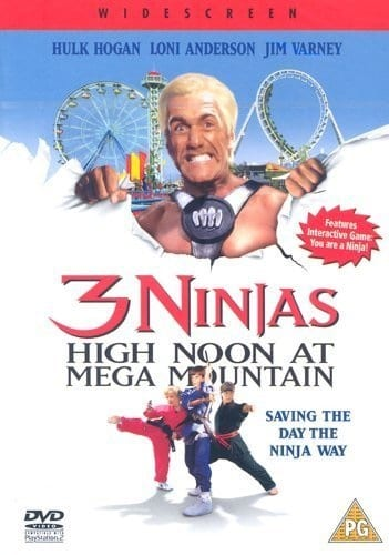 3 Ninjas: High Noon at Mega Mountain (1998) starring Hulk Hogan on DVD on DVD