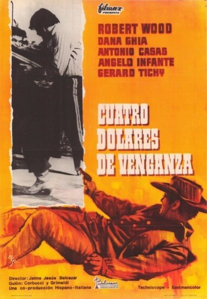 4 Dollars of Revenge (1966) with English Subtitles on DVD on DVD