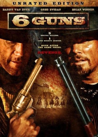 6 Guns (2010) starring Barry Van Dyke on DVD on DVD
