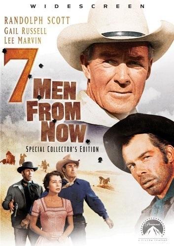 7 Men from Now (1956) starring Randolph Scott on DVD on DVD