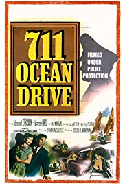 711 Ocean Drive (1950) starring Edmond O'Brien on DVD on DVD