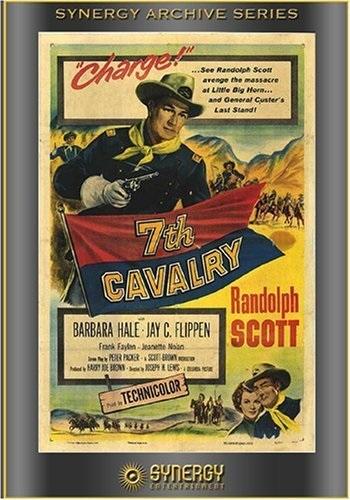 7th Cavalry (1956) starring Randolph Scott on DVD on DVD
