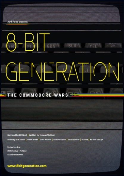 8 Bit Generation: The Commodore Wars (2016) starring Chuck Peddle on DVD on DVD