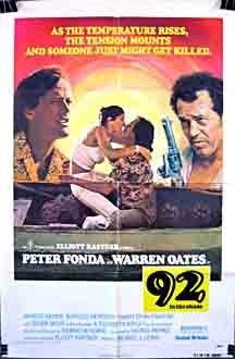 92 in the Shade (1975) starring Peter Fonda on DVD on DVD