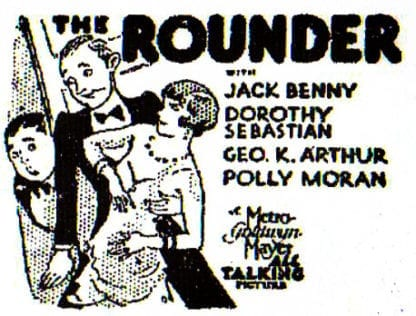 The Rounder (1930) DVD