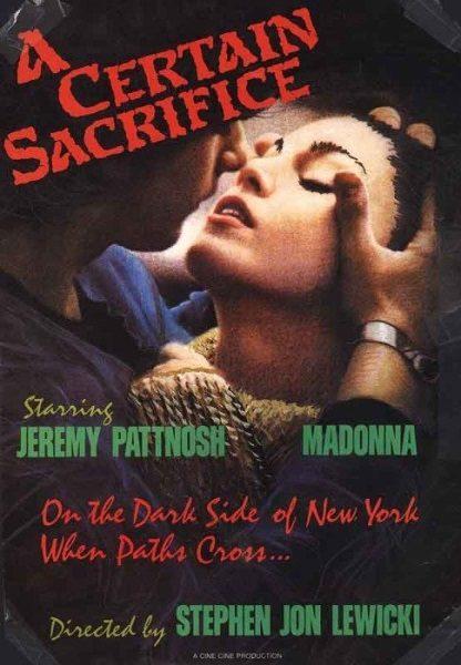 A Certain Sacrifice (1985) starring Jeremy Pattnosh on DVD on DVD