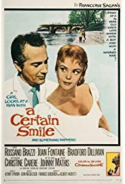 A Certain Smile (1958) starring Rossano Brazzi on DVD on DVD