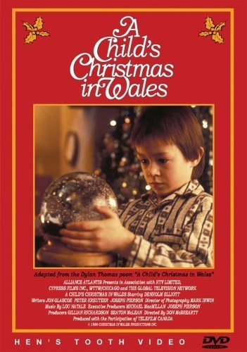 A Child's Christmas in Wales (1987) starring Denholm Elliott on DVD on DVD