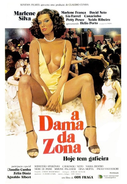 A Dama da Zona (1979) with English Subtitles on DVD on DVD