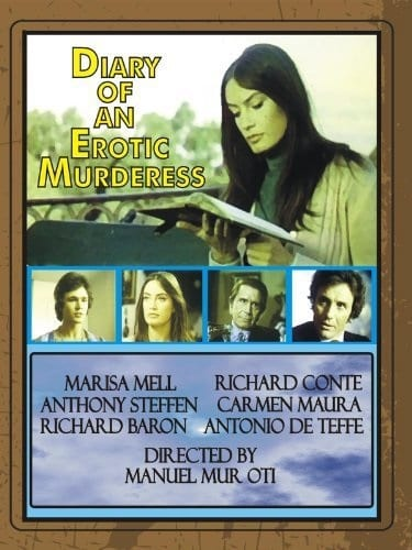 A Diary of a Murderess (1975) with English Subtitles on DVD on DVD