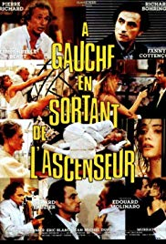 À gauche en sortant de l'ascenseur (1988) with English Subtitles on DVD on DVD