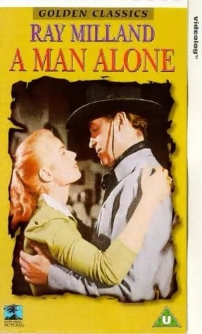 A Man Alone (1955) starring Ray Milland on DVD on DVD
