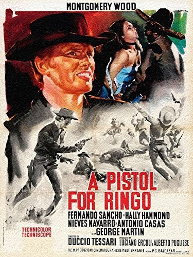 A Pistol for Ringo (1965) with English Subtitles on DVD on DVD