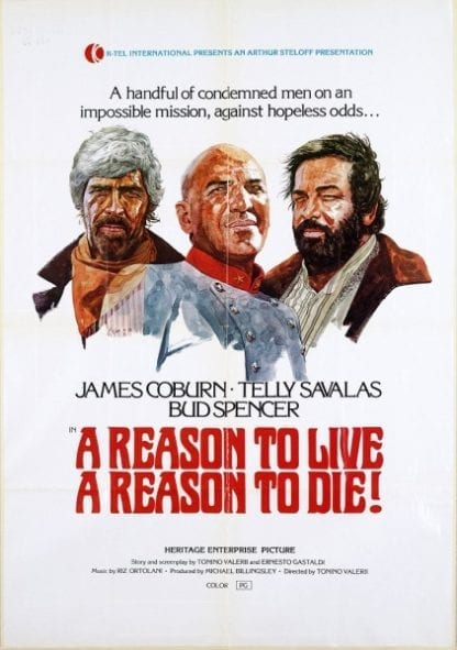 A Reason to Live, a Reason to Die (1972) starring James Coburn on DVD on DVD