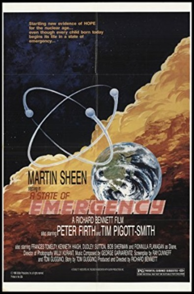 A State of Emergency (1986) starring Martin Sheen on DVD on DVD
