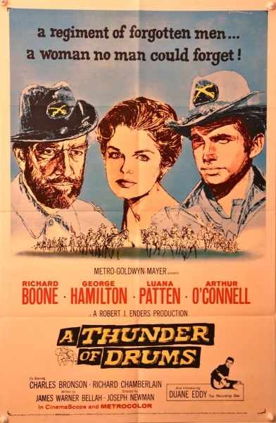 A Thunder of Drums (1961) starring Richard Boone on DVD on DVD