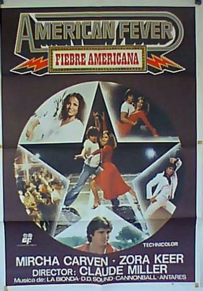 American Fever (1978) with English Subtitles on DVD on DVD