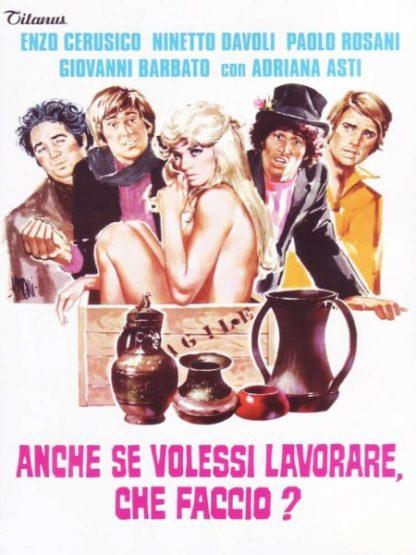 Anche se volessi lavorare, che faccio? (1972) with English Subtitles on DVD on DVD