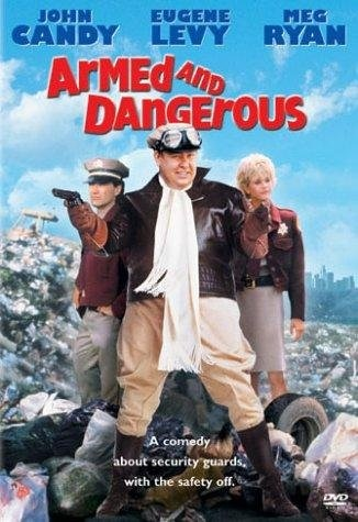 Armed and Dangerous (1986) starring John Candy on DVD