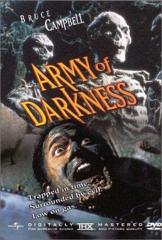 Army of Darkness (1992) starring Bruce Campbell on DVD on DVD