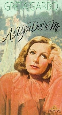 As You Desire Me (1932) starring Greta Garbo on DVD