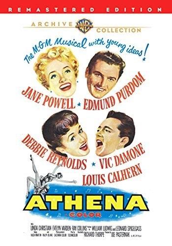 Athena (1954) starring Jane Powell on DVD on DVD