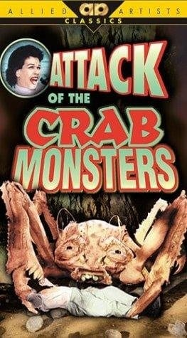 Attack of the Crab Monsters (1957) starring Richard Garland on DVD on DVD