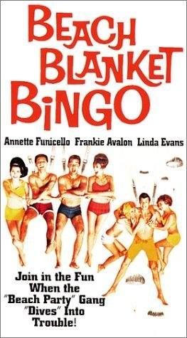 Beach Blanket Bingo (1965) starring Frankie Avalon on DVD on DVD