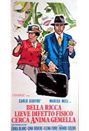 Bella, ricca, lieve difetto fisico, cerca anima gemella (1973) with English Subtitles on DVD on DVD