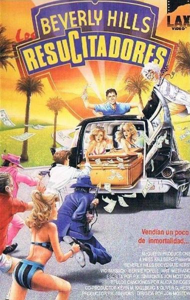 Beverly Hills Bodysnatchers (1989) starring Vic Tayback on DVD on DVD