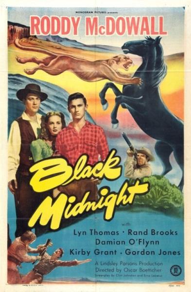 Black Midnight (1949) starring Roddy McDowall on DVD on DVD