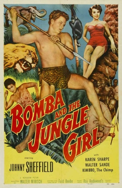 Bomba and the Jungle Girl (1952) starring Johnny Sheffield on DVD on DVD