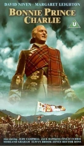 Bonnie Prince Charlie (1948) starring David Niven on DVD on DVD