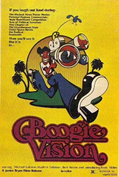 Boogievision (1977) starring Bert Belant on DVD on DVD