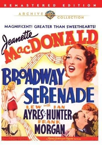 Broadway Serenade (1939) starring Jeanette MacDonald on DVD on DVD