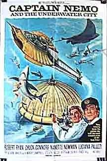 Captain Nemo and the Underwater City (1969) starring Robert Ryan on DVD on DVD